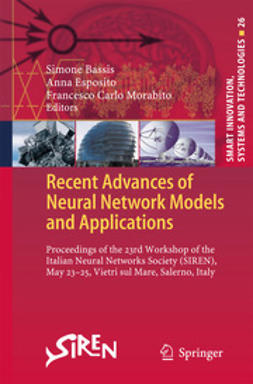 Bassis, Simone - Recent Advances of Neural Network Models and Applications, e-kirja