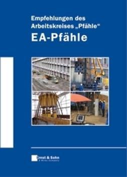 "UNKNOWN - Empfehlungen des Arbeitskreises ""Pfhle"" -  EA-Pfhle, e-bok"