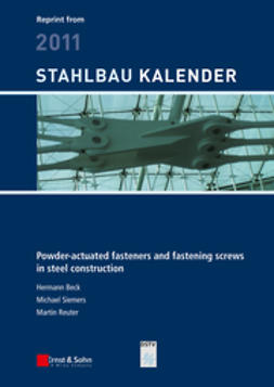 Beck, Hermann - Powder-actuated Fasteners and Fastening Screws in Steel Construction, ebook