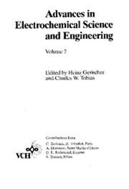 Gerischer, Heinz - Advances in Electrochemical Science and Engineering, ebook