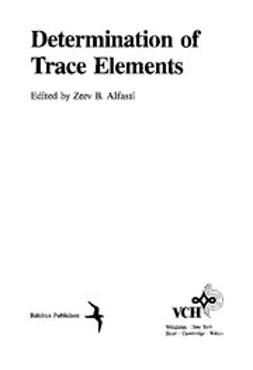 Alfassi, Zeev B. - Determination of Trace Elements, ebook