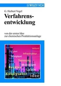 Vogel, G. Herbert - Verfahrensentwicklung, e-bok