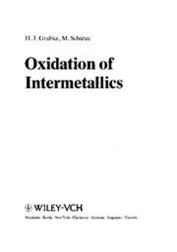 Grabke, Hans Jürgen - Oxidation of Intermetallics, ebook