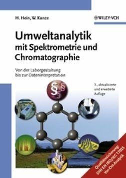 Hein, Hubert - Umweltanalytik mit Spektrometrie und Chromatographie, ebook