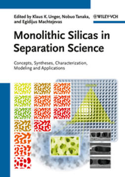Machtejevas, Egidijus - Monolithic Silicas in Separation Science: Concepts, Syntheses, Characterization, Modeling and Applications, ebook