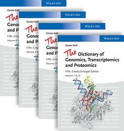 Kahl, Guenter - The Dictionary of Genomics, Transcriptomics and Proteomics, ebook