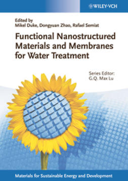 Duke, Mikel - Functional Nanostructured Materials and Membranes for Water Treatment, ebook
