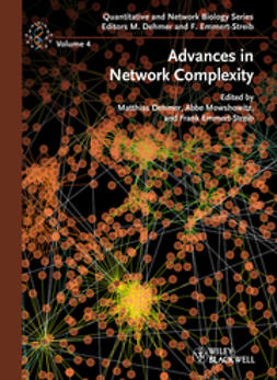Dehmer, Matthias - Advances in Network Complexity, ebook
