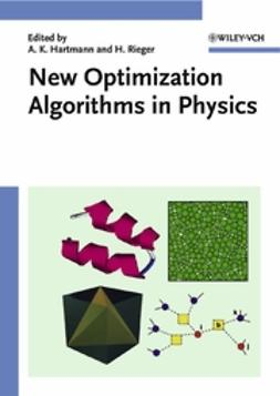 Hartmann, Alexander K. - New Optimization Algorithms in Physics, e-bok