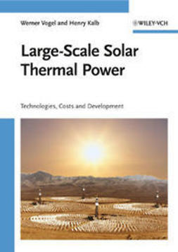 Vogel, Werner - Large-Scale Solar Thermal Power: Technologies, Costs and Development, ebook