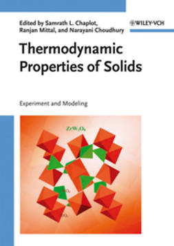 Chaplot, S. L. - Thermodynamic Properties of Solids: Experiments and Modeling, e-bok