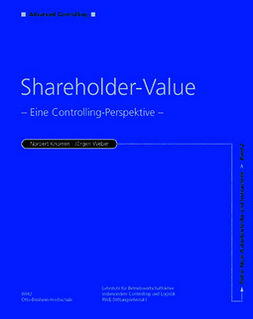 Knorren, Norbert - Shareholder Value: Eine Controlling-Perspektive, e-bok