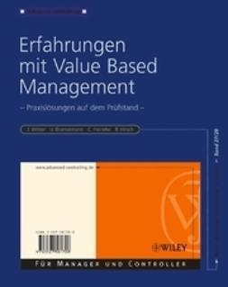 Weber, J?rgen - Erfahrungen mit Value Based Management: Praxislsungen auf dem Prfstand, ebook