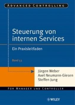 Weber, J?rgen - Steuerung interner Servicebereiche: Ein Praxisleitfaden, e-bok