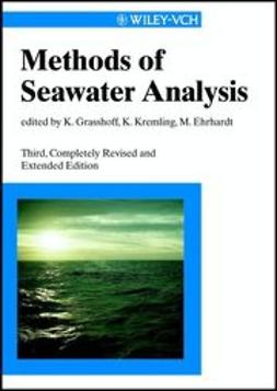 Grasshoff, Klaus - Methods of Seawater Analysis, ebook