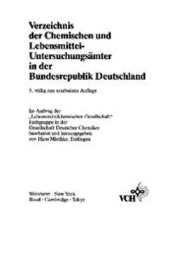 Miethke, Hans - Verzeichnis der Chemischen und Lebensmittel- Untersuchungsämter in der Bundesrepublik Deutschland, ebook