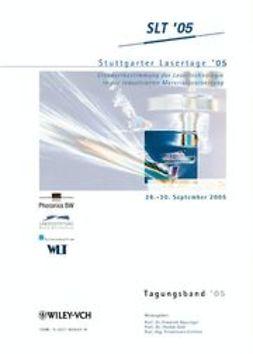 Dausinger, Friedrich - Stuttgarter Lasertage '05: Tagungsband, ebook