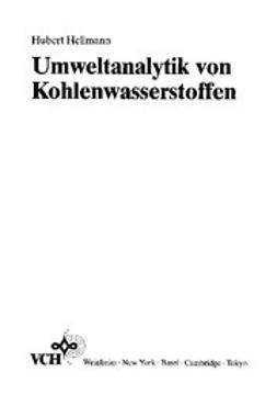 Hellmann, Hubert - Umweltanalytik von Kohlenwasserstoffen, ebook