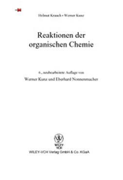 Krauch, Helmut - Reaktionen der organischen Chemie, ebook