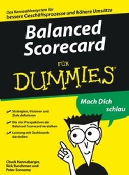 Buchman, Frederick - Balanced Scorecard für Dummies, ebook