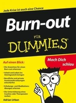 Urban, Adrian - Burn-out fr Dummies, ebook