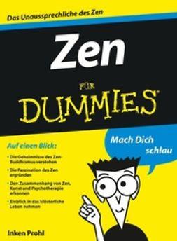 Prohl, Inken - Zen für Dummies, e-kirja