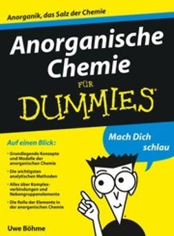 Böhme, Uwe - Anorganische Chemie für Dummies, ebook