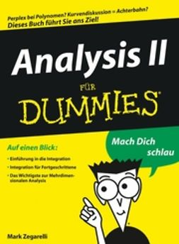 Zegarelli, Mark - Analysis II für Dummies, e-bok