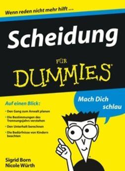 Born-Berg, Sigrid - Scheidung fr Dummies, ebook