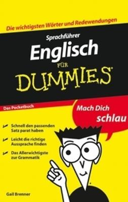 Brenner, Gail - Sprachfhrer Englisch fr Dummies Das Pocketbuch, ebook