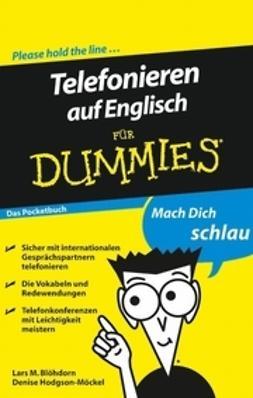 Blöhdorn, Lars M. - Telefonieren auf Englisch fur Dummies Das Pocketbuch, ebook