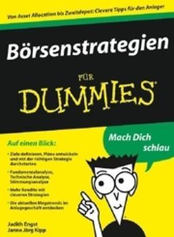 Engst, Judith - Börsenstrategien für Dummies, ebook