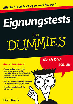 Healy, Liam - Eignungstests fr Dummies, ebook