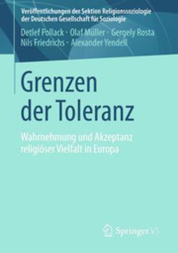 Pollack, Detlef - Grenzen der Toleranz, e-kirja