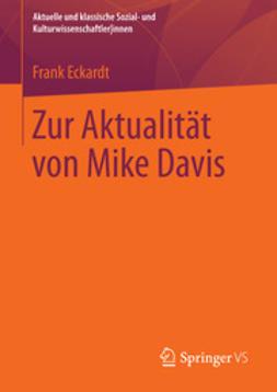 Eckardt, Frank - Zur Aktualität von Mike Davis, ebook