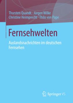 Quandt, Thorsten - Fernsehwelten, ebook