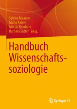 Maasen, Sabine - Handbuch Wissenschaftssoziologie, ebook