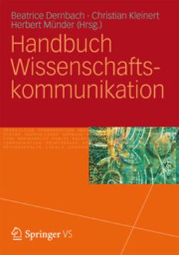 Dernbach, Beatrice - Handbuch Wissenschaftskommunikation, ebook