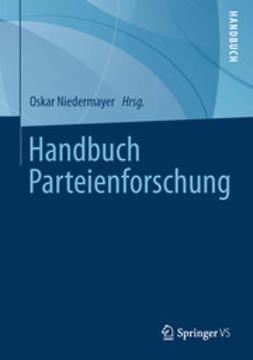 Niedermayer, Oskar - Handbuch Parteienforschung, ebook