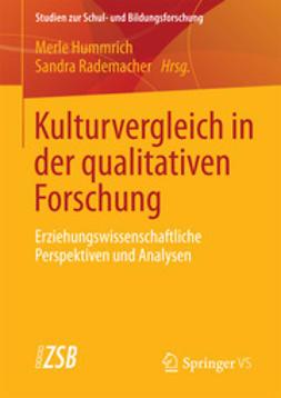 Hummrich, Merle - Kulturvergleich in der qualitativen Forschung, ebook