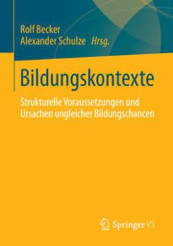 Becker, Rolf - Bildungskontexte, ebook