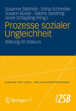 Siebholz, Susanne - Prozesse sozialer Ungleichheit, ebook