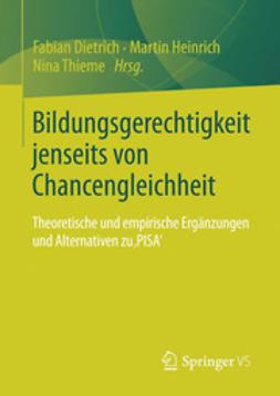 Dietrich, Fabian - Bildungsgerechtigkeit jenseits von Chancengleichheit, ebook
