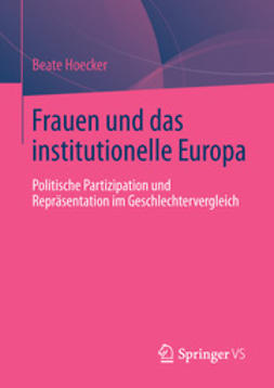 Hoecker, Beate - Frauen und das institutionelle Europa, ebook