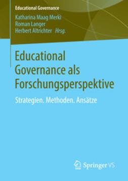 Merki, Katharina Maag - Educational Governance als Forschungsperspektive, ebook