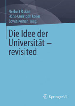 Ricken, Norbert - Die Idee der Universität - revisited, e-kirja