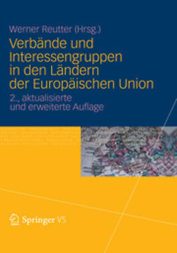 Reutter, Werner - Verbände und Interessengruppen in den Ländern der Europäischen Union, ebook