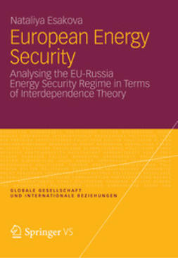 Esakova, Nataliya - European Energy Security, ebook