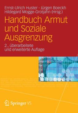Huster, Ernst-Ulrich - Handbuch Armut und Soziale Ausgrenzung, ebook