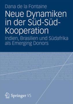 Fontaine, Dana de la - Neue Dynamiken in der Süd-Süd-Kooperation, ebook